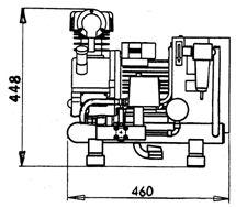 Kompresor Orlík EKN 4